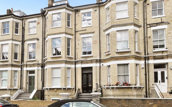 Development finance converted to investment finance for refinancing of freehold block, Crossfield Road, NW3